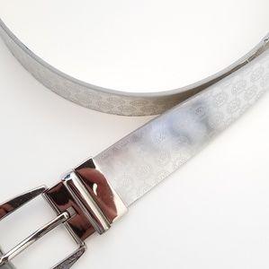 "Michael Kors silver belt 31.5""- 36"""